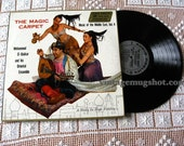 The MAGIC CARPET Belly Dance  Vinyl Lp Record  Middle East Stereo Sexy Cover