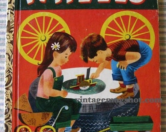 LITTLE GOLDEN BOOK WHEELS 1952 A 1ST ED. 141