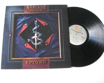 Neville Brothers Uptown vintage vinyl lp  Near Mint exc Album New Orleans