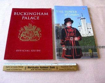 2 LONDON Tour Guides Tower and Buckingham Palace Olympics Diamond Jubilee