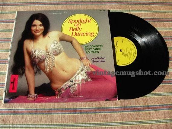 BELLY DANCE VINYL LP RECORD SPOTLIGHT ON BELLY DANCING