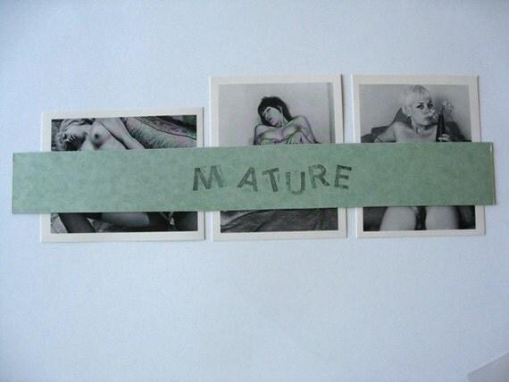 "3 MATURE photo/prints Seventies Erotic Explicit Photos 4"" x 5"" Sex Sexual Natural"