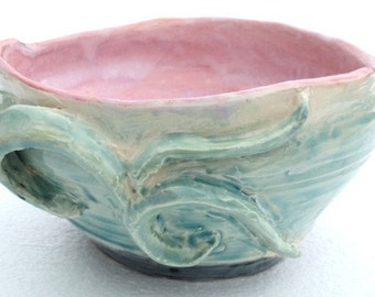 Hand Formed Retro-Style Bowl