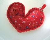 Plushie Eco Felt Have A Heart Key Chain Charm
