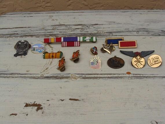 Vintage Lot of Pins, Mostly Military, BeastlyLettuce Vintage