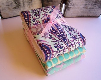 Diaper Burp Cloth Set of 3 - Amy Butler Love