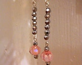 Sparklers/Czech Faceted Crystal Earrings
