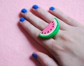 slice of watermelon ring