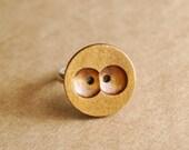hoot hoot owl eyes ring