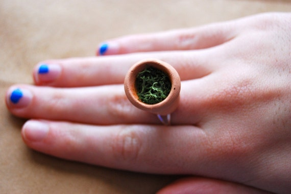SALE a garden on your finger ring LAST ONE