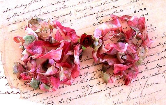 ROSE GARDEN Crinkled Cottage Ribbon