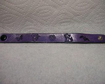 Childrens Leather Bracelet