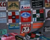 Tshirt Quilt Memory Blanket deposit - FREE SHIPPING
