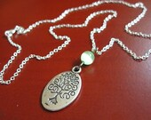 Sterling Silver - Mother Earth Eco Necklace