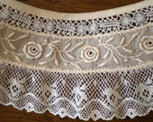 RESERVED -Vintage Rose Lace, 27.5 inches