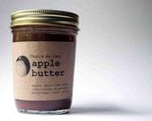 That's my Jam apple butter 8oz jar
