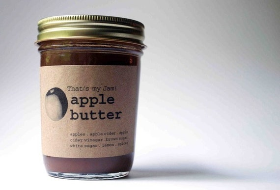 That's my Jam apple butter 8oz jar