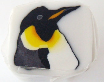 Emperor Penguin Polymer Clay Cane, Polymer Clay, Cane, Canes, Unbaked CaneNail Art, FIMO, Jewelry