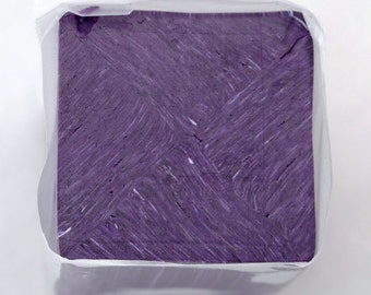 Polymer Clay Starry Night Tile Cane Purple 71b, Polymer Clay, Cane, Canes, Unbaked Cane