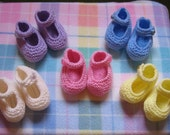 Cute Knitting Pattern for Mary Jane Shoes - 11