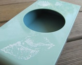 Seafoam Green Kleenex Dispenser