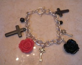 Have No Mercy Bracelet Part of My Gothic Lolita COLLECTION AN EXCLUSIVE Simplycamo DESIGN