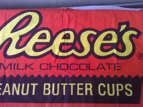 Reese's Peanut Butter Cup Fabric Panel FP0067 Costume, Pillow, Wallhanging