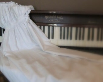 Victorian Hand Stitched Christening Gown