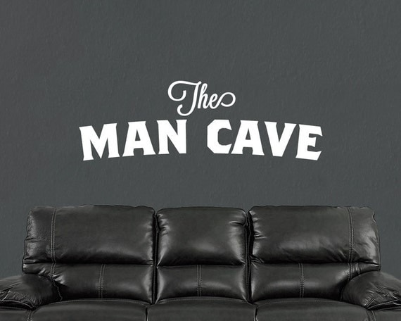 The League Man Cave Quotes : The man cave wall decal art decor