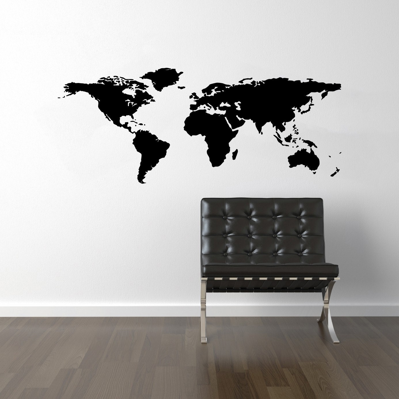 world map wall decal travel wall decor map wall by decallab world map world atlas wall stickers wall art decal