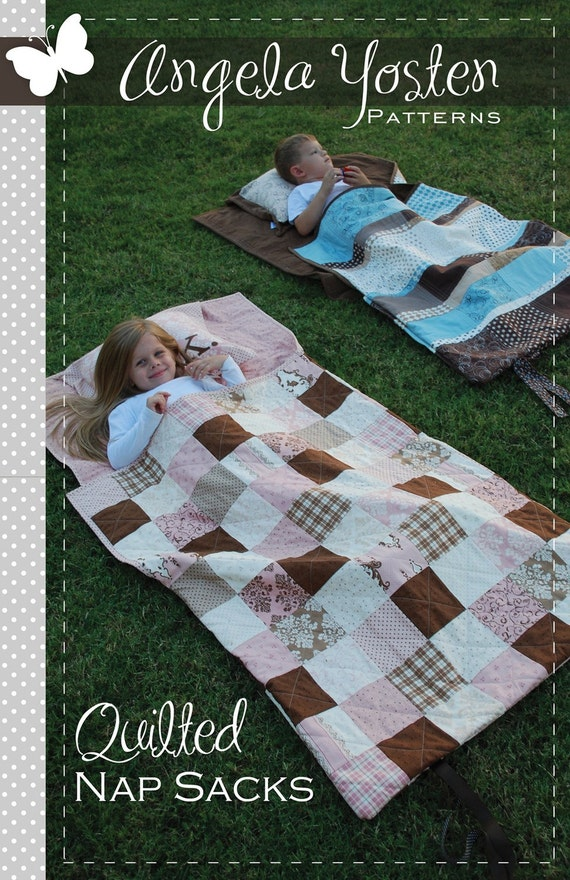 Quilted Nap Sack Pattern - Printed Version