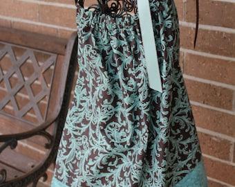Turquoise Pillowcase Dress
