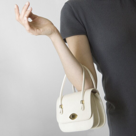 Made in Japan White Cream Purse