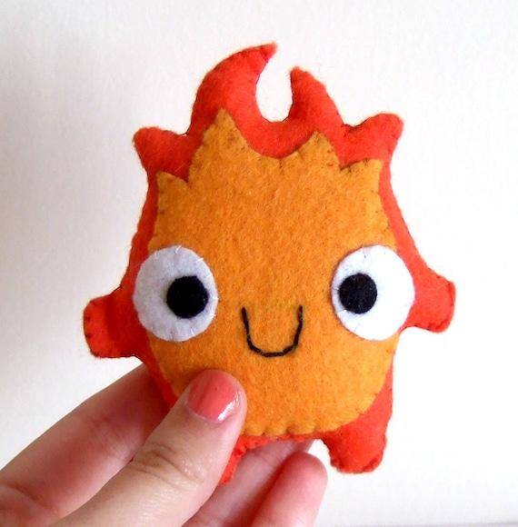 Very Cute Calcifer Howl's Moving Castle Fire Plush