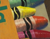 Crayola 12X10 Giclee of Pastel Painting