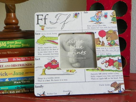 Custom Richard Scarry vintage story book frame.