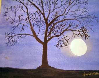 Moon Lit Tree