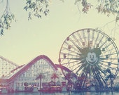 Disney California Adventure Paradise Peir 5x7 Photo Art Print