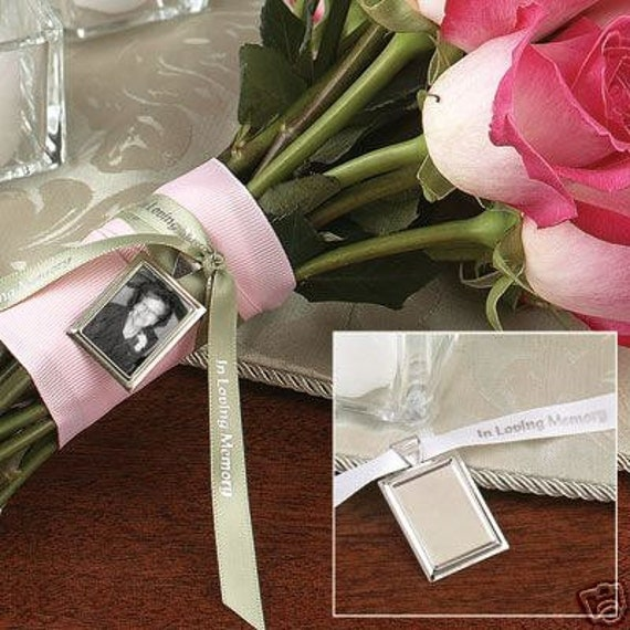In Loving Memory Wedding  Bouquet Charm