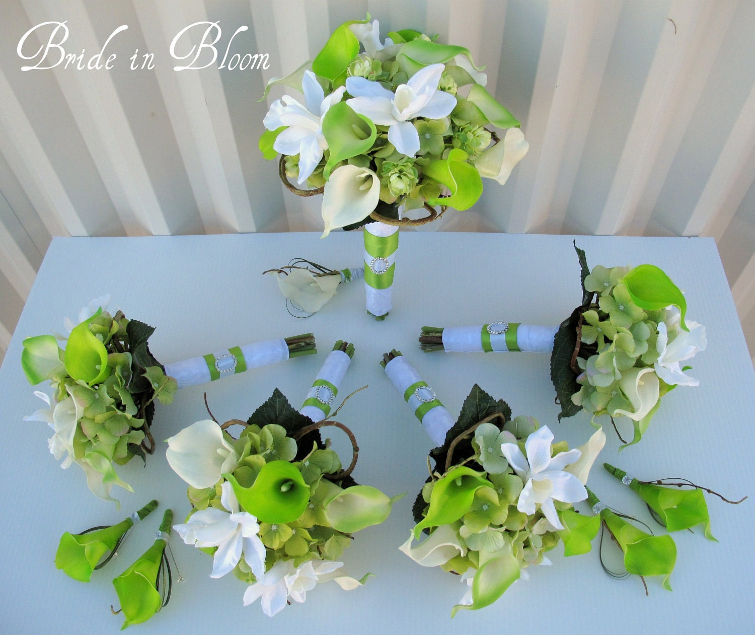 Lime Green Bridal Flowers : Lime green wedding bouquet galleryhip the