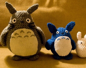 A Crochet Totoro and Friends