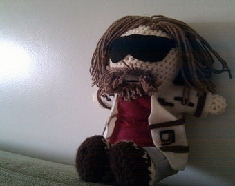 Big Lebowski inspired doll