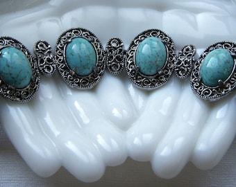 Hollycraft  Art Glass Bracelet