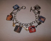 King of Rock n Roll Elvis Presley Charm bracelet