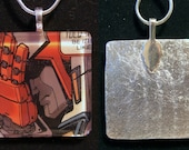 Face Palm Medic - Transformers enamel pendant - Ratchet
