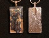 Ultra Magnus 4 - Transformers enamel pendant
