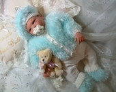 Knitting pattern for reborn dolls 17 to 20 inch or tiny babies