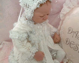 Knitting pattern for 18 - 22 inch reborn dolls or small baby