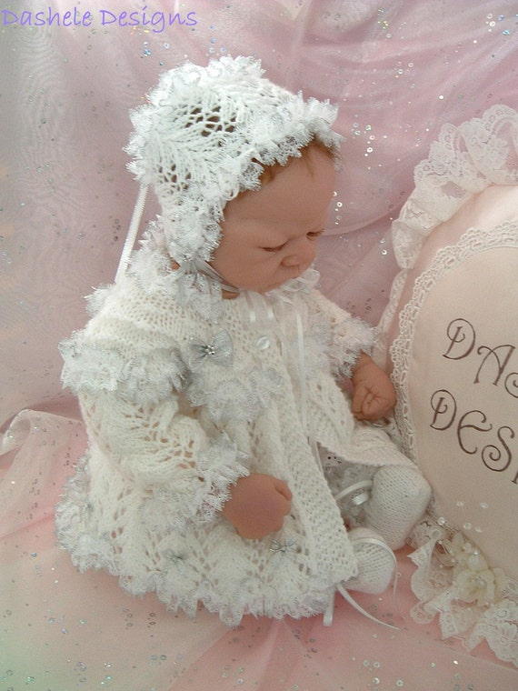 Knitting Patterns For Reborn Dolls : Knitting pattern for 18 22 inch reborn dolls or small baby