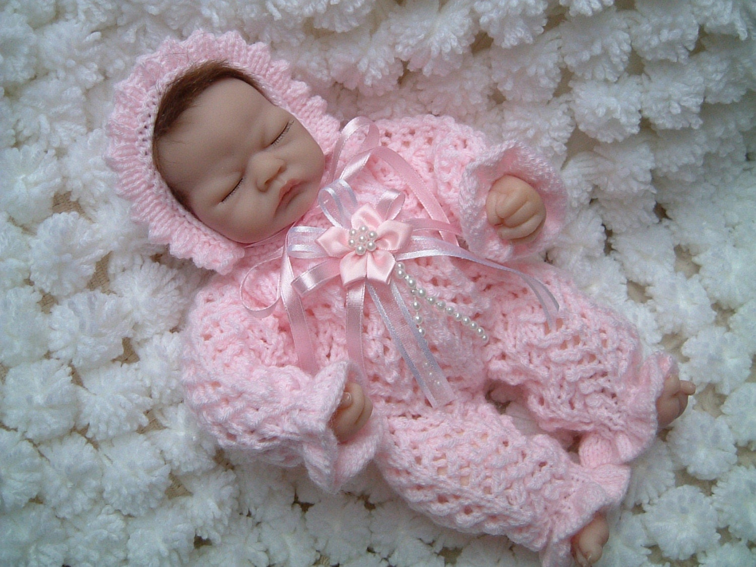 Emmy Doll Knitting Pattern : Knitting pattern for romper suit for 10 inch Emmy Berenguers